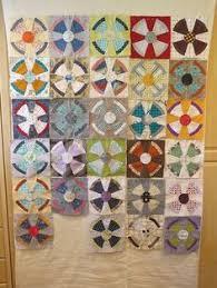 Steampunk Quilt by Thimbleanna. Pattern by Jen Kingwell. | Circle ... & Steam Punk Quilt Along Adamdwight.com