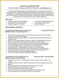 Medical Assistant Resume Template Free Experienced Pediatric Medical ...