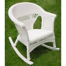 wicker rocking chair. Wicker Rocking Chair T