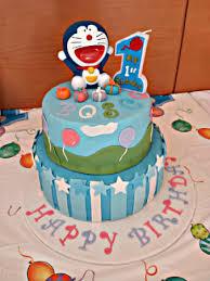 Doraemon Cake Cooking Class Singapore