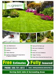 elegant playful landscaping flyer designs for a landscaping flyer design design 2960355 submitted to looking to rebrand landscaping business closed