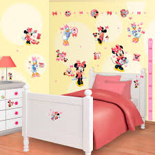 Minnie Mouse Wallpaper For Bedroom Disney Minnie Mouse Daisy Duck Walltastic Stickers Great