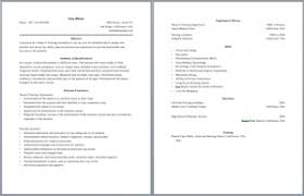 Two Page Resume Sample Jmckell Com