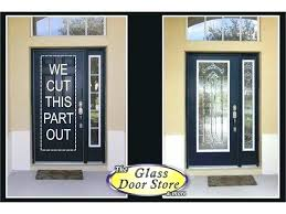 interior french door glass inserts doors with front replacement storm insert