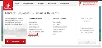 Emirates Airlines Award Chart How To Book Emirates Skywards Awards