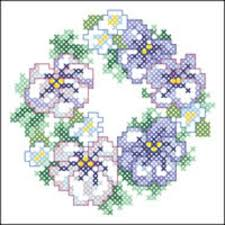 Cross Stitch Flower Patterns Unique 48 Floral Wreath CrossStitch Patterns