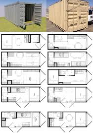 How To Build A Shipping Container House 20 Foot Shipping Container Floor Plan Brainstorm Tiny House Living