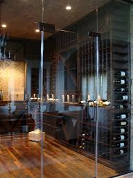 transformation of a storage room into a wine cellar in los angeles california
