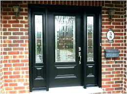 modern glass exterior doors post front double