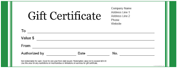 Microsoft Word Gift Certificate Template 28 Best Of Gift Certificate Template Word Free