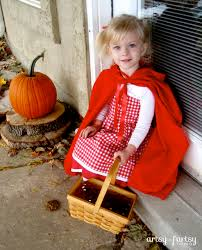 handmade little red riding hood