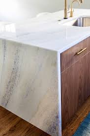 kitchen trends waterfall edge counter tops callier and