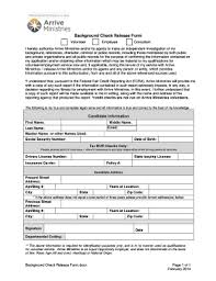 Employee Background Check Form - Edit, Fill, Print & Download Best ...