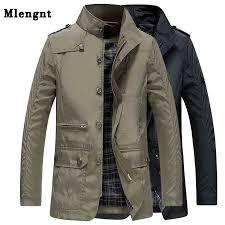 <b>Men</b> Windbreaker <b>Classic</b> Jacket For <b>Spring Autumn</b> Outerwear ...