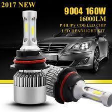buick skylark led lights newest 160w 16000lm 9004 philips led headlight kit hi lo beam bulbs 6000k white fits buick skylark