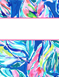 Printable Binder Cover Lilly Pulitzer Binder Covers 2017 Free Cute Printable Binder Covers
