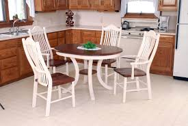 small round kitchen table dinette set dining table modern