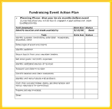 Fundraising Plan Template 1 Year Business Plan Template Fundraising Strategic Example