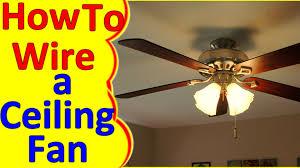 ceiling fan wiring diagram installation