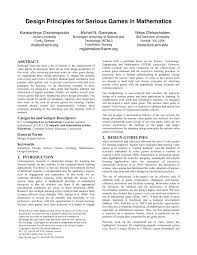 Activity 1 1 2 Design Principles And Elements Answer Key Pdf Design Principles For Serious Games In Mathematics