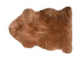 fibre by auskin sheepskin rug premium new color granola