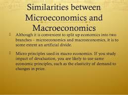 Difference Between Micro Macro Economics