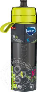 Купить Фильтр-<b>бутылка для воды</b> Brita Fill&Go Vital лайм 600мл с ...