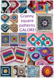 Easy Crochet Granny Squares Free Patterns Cool 48 Amazing Granny Square Patterns