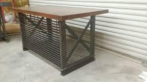 iron age office furniture custom built desks desk ideas large size