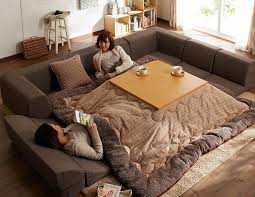 table heater. kotatsu-japanese-heating-bed-table-25 table heater