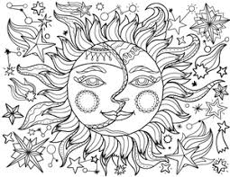 Small Picture New Adult Coloring Pages Steampunk Horse Sun and Moon and More