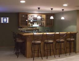 Basement Kitchen Bar Simple Basement Bar Ideas Perfumevillageus