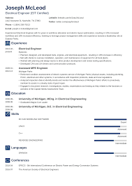 Electrical Engineering Resume Sample Writing Guide 20