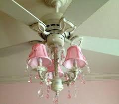 phenomenal pink ceiling fan chandelier modern design girls motivate fans along with