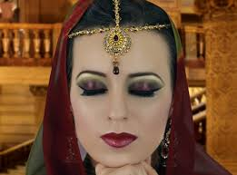 maroon and green smokey eye makeup tutorial asian indian stani bridal make up you