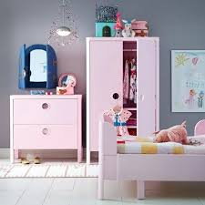 ikea bedroom furniture wardrobes. Ikea Kids Bedroom Furniture A With Wardrobe Chest Of Drawers And Bed In Pink Wardrobes