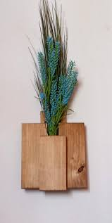 Wood Plant Holder, Wooden Wall Plant Holder, Plant Holder, Hanging Wood  Planters, Rustic Wall Decor
