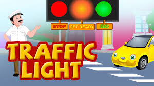 Twinkle Twinkle Traffic Light Song Lyrics Traffic Light Nursery Rhymes For Children