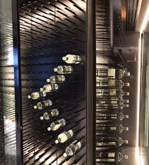 Cabinet With Wine Cooler Glass Enclosed Wine Cellars Stact Wine Racks