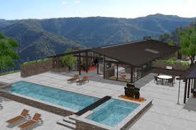 Modern House Plans   Houseplans comSignature Modern Exterior   Front Elevation Plan       Houseplans com
