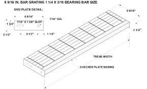 bar grating tread bar grate mezzanine floor