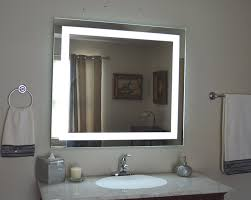 amazoncom wall mounted lighted vanity mirror led mam