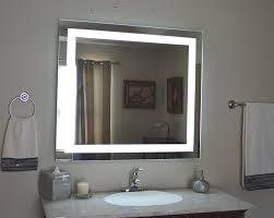 Amazon Com Wall Mounted Lighted Vanity Mirror Led Mam84036 Led Lights Vanity Mirror