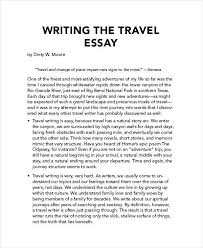 travel essay examples samples travel writing essay