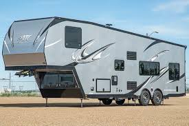 atc aluminum trailer pany atc aluminum trailer pany fifth wheel toy haulers rv trader