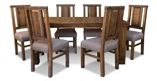 simple rustic hacienda dining room suite