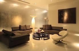 elegant living room interior lighting ideas with sectional sofa