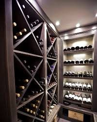 wine rack lighting. View In Gallery Unique Cabinets To Display An Impressive Wine Collection Rack Lighting L