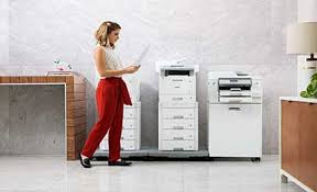 The first step of the brother hl l2350dw wireless setup process is to select the network option from the home screen. Brother Hl L2350dw Monochrome Laser Printer With Duplex