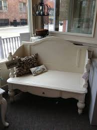 furniture repurpose ideas. Turn A Coffee Table \u0026 Headboard Into An Outdoor Bench...these Are Furniture Repurpose Ideas E